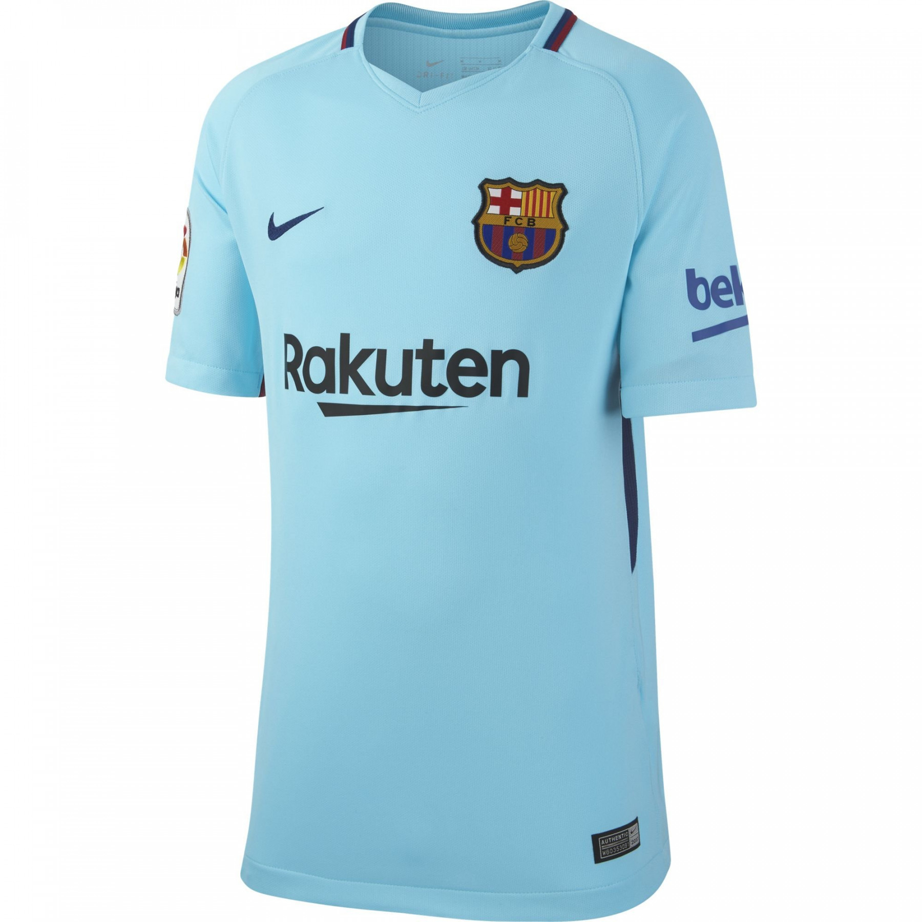 Nike barcelone maillot exterieur junior 2017 2018 club for Barcelone maillot exterieur