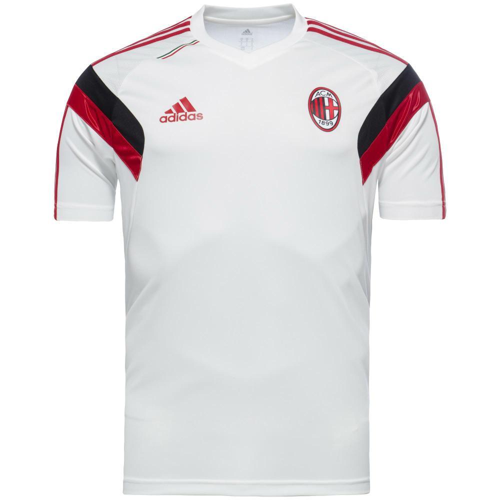 Adidas milan ac maillot entrainement blanc 2014 15 for Univers du jardin maule 78