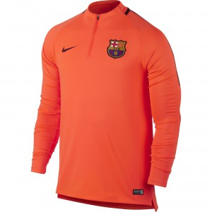 NIKE BARCELONE TRG TOP ORANGE 2017/2018