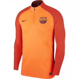 NIKE BARCELONE TRG TOP ELITE ORANGE 2017/2018