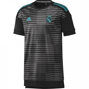 ADIDAS REAL MADRID TRG JSY PRE MATCH NOIR 2018
