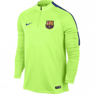 NIKE BARCELONE TRG TOP VERT POMME 2016/2017