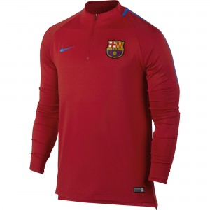 NIKE BARCELONE TRG TOP ROUGE 2017/2018