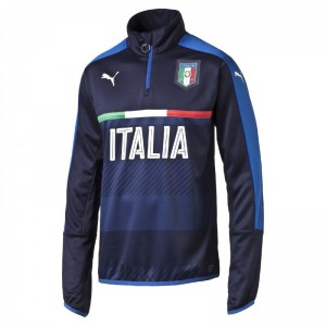PUMA ITALIE TRAINING TOP MARINE 2015/2016