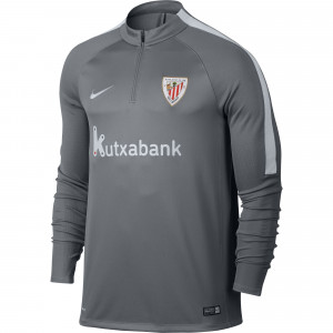 training top athletic bilbao gris equipement