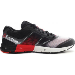 REEBOK ONE CUSHION NOIR/ROUGE
