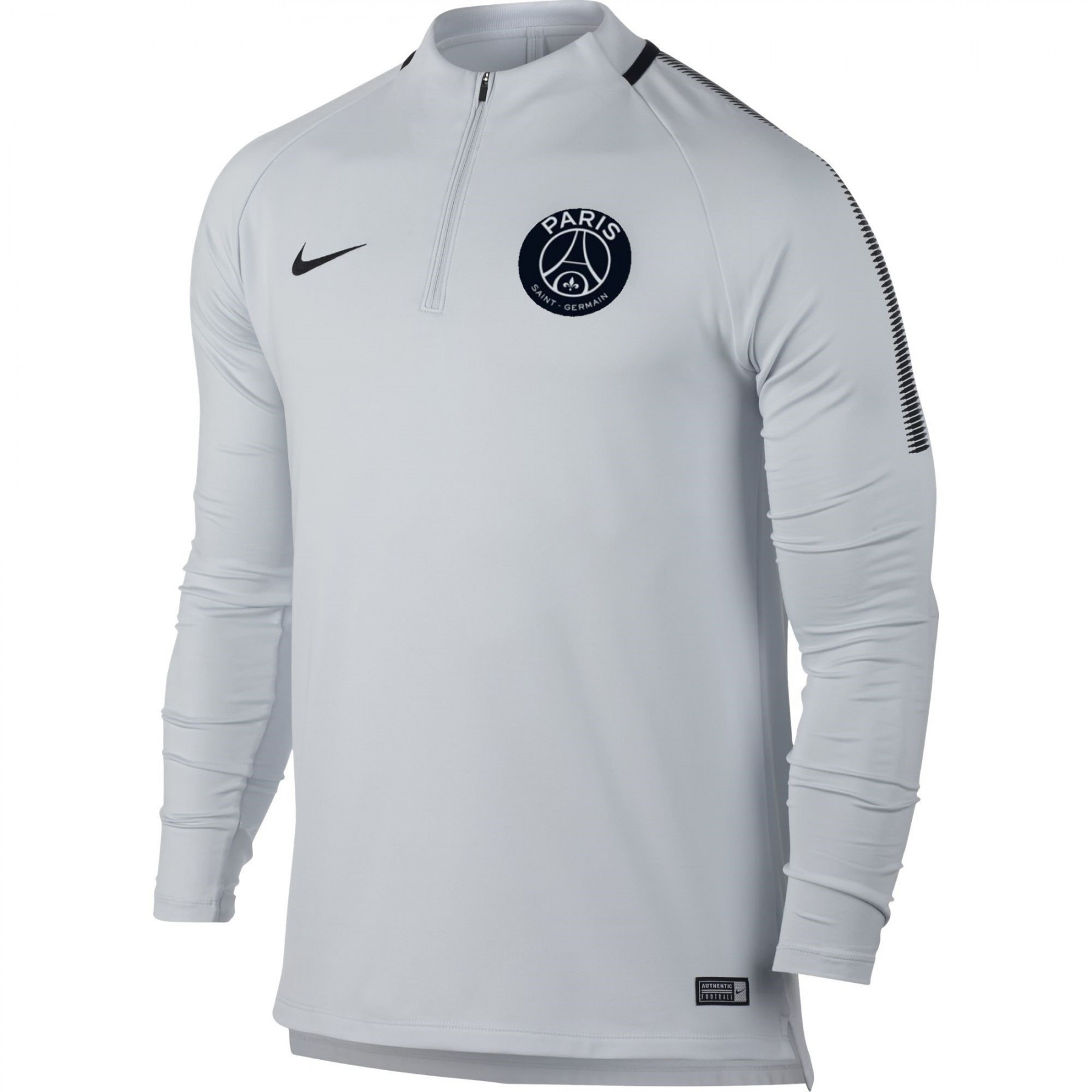 nike psg trg top blanc 2017 2018 psg club francais. Black Bedroom Furniture Sets. Home Design Ideas