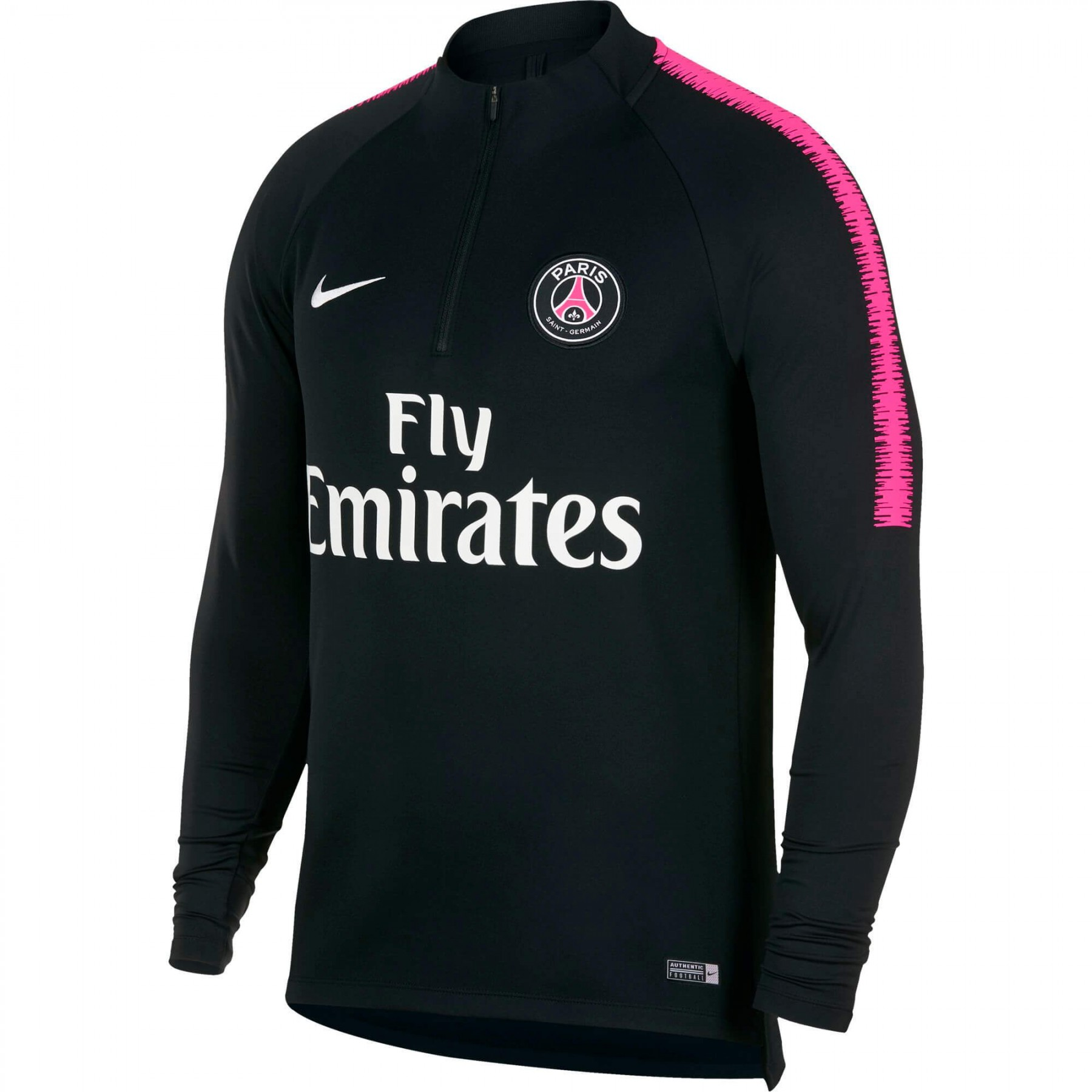 nike psg sweat entrainement noir 2018 2019 894320 011. Black Bedroom Furniture Sets. Home Design Ideas