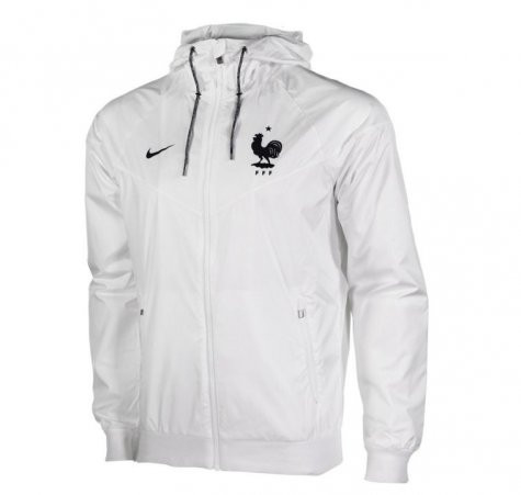 Coupe vent nike blanc euro 2016 windrunner fff f d ration fran aise football - Coupe vent adidas junior ...
