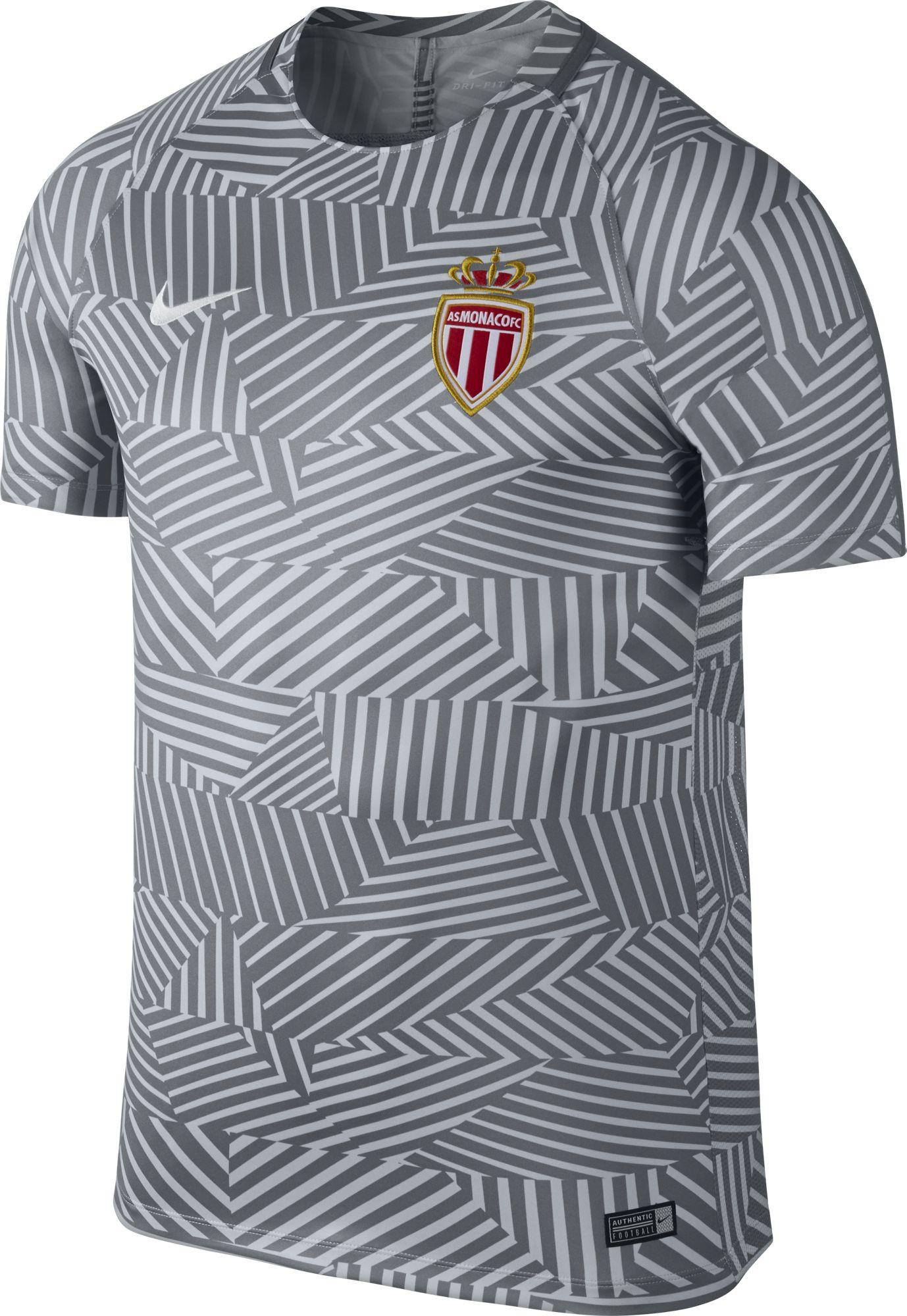 Nike Francais Monaco Maillot 20162017 Gris Training Club trsQdCxh