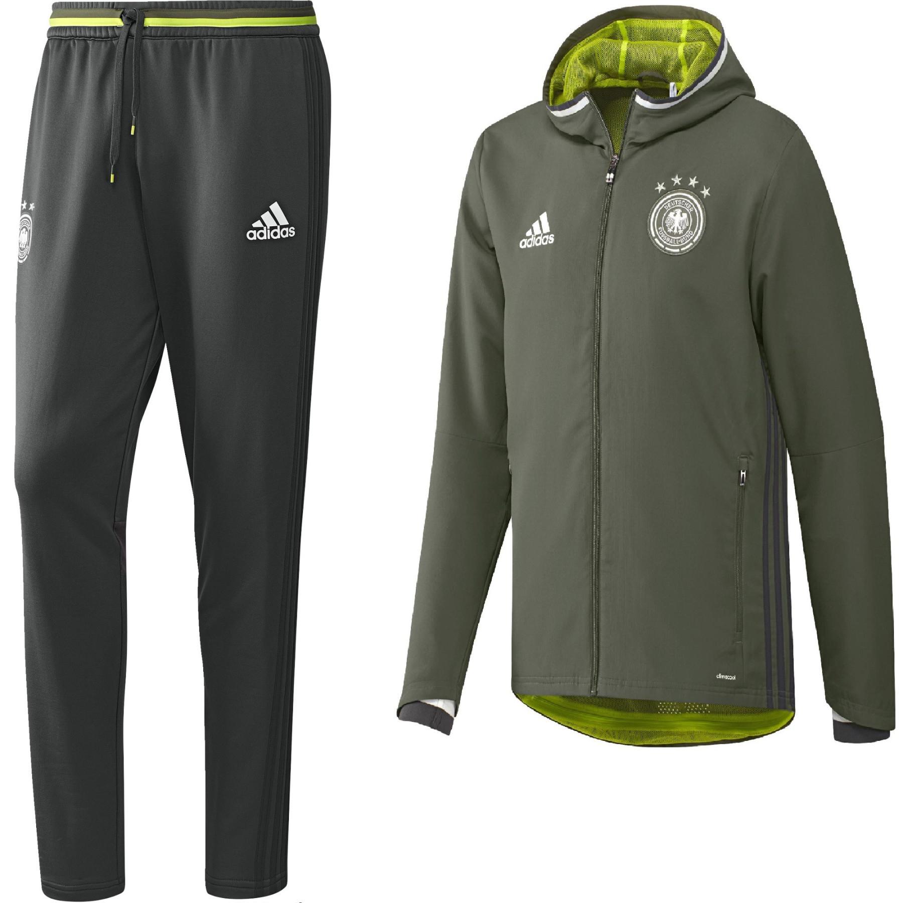 Pantalon survetement Allemagne foot Adidas