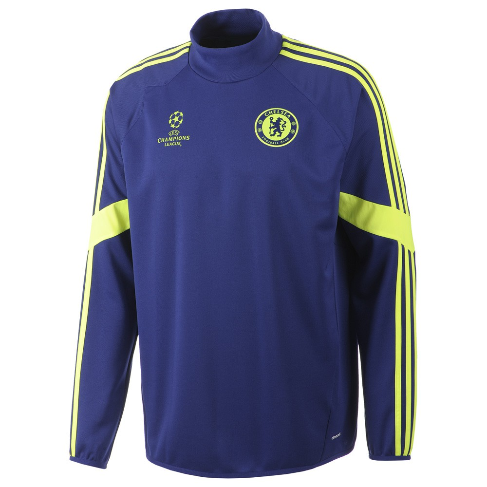 Eu Training Rayon 20142015 Adidas Sweat Chelsea Top Entrainement FSUzq