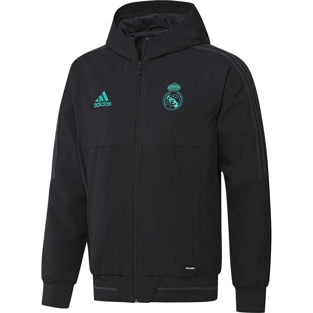 Adidas Noir Jkt Pre Madrid Real 20172018 Rayon QeCrxoBWdE