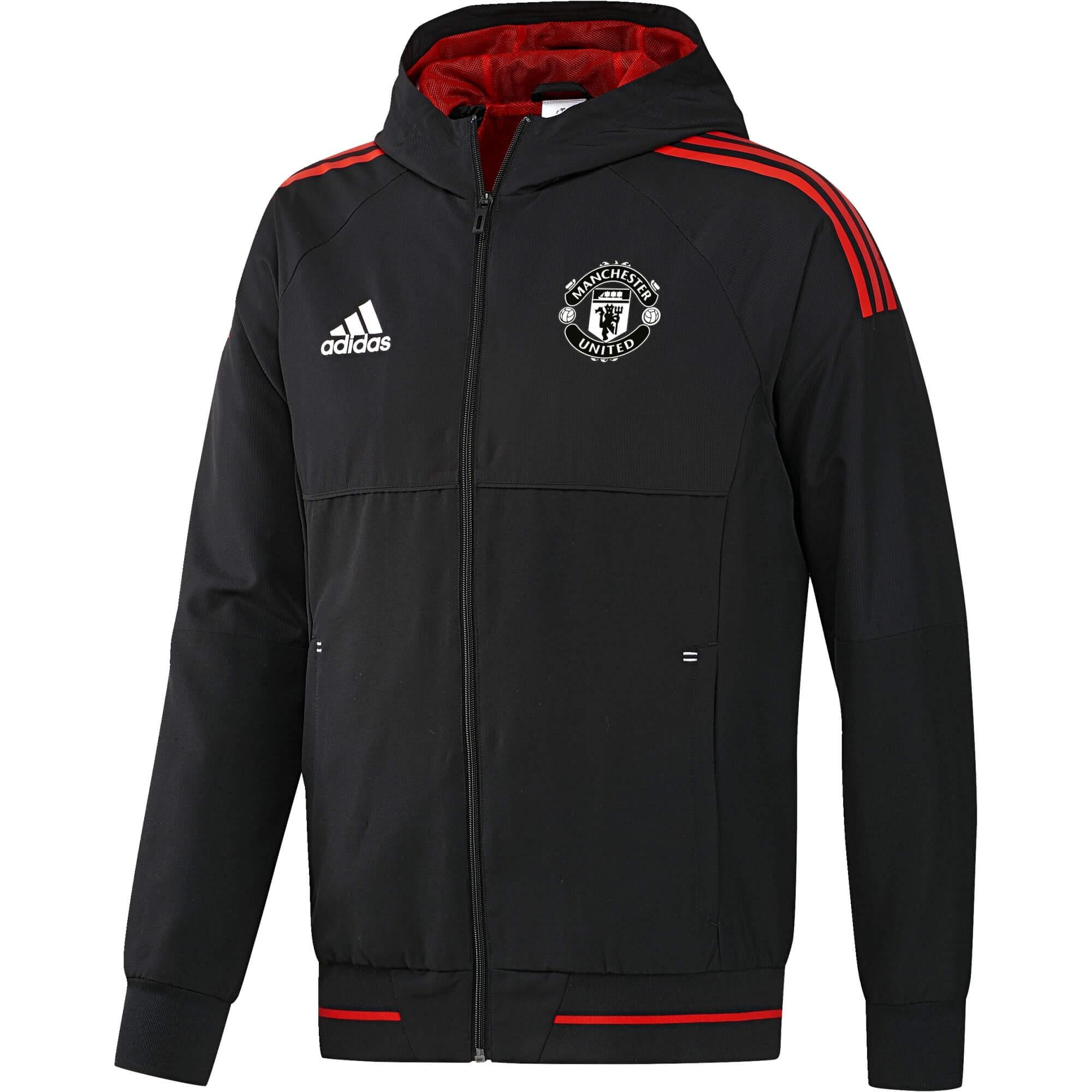 20172018 Jkt Adidas Manchester Eu Pre United Noir qYfIYw4