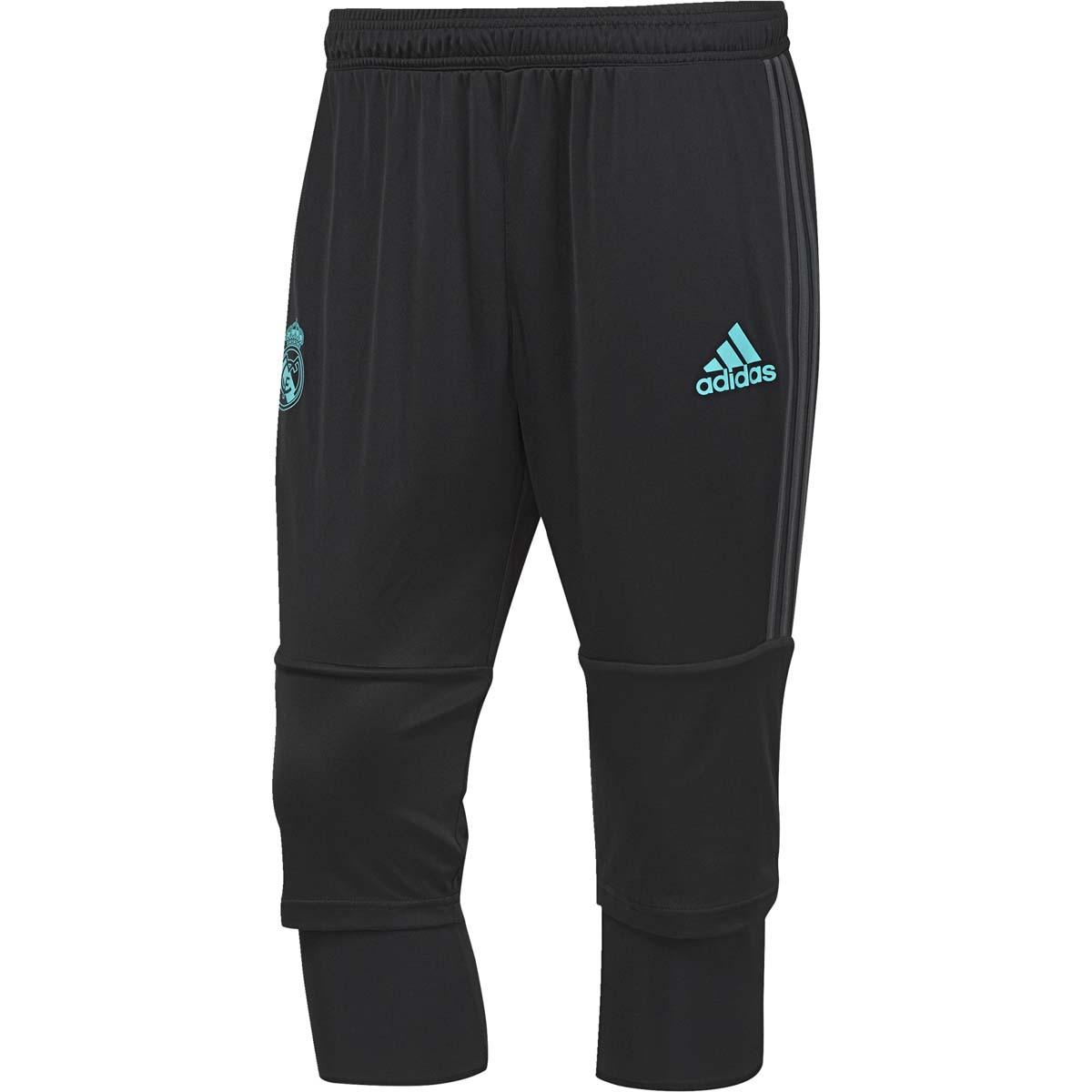 Pantalon Noir Real 20172018 Junior Madrid Adidas Pantacourt xpf014xq