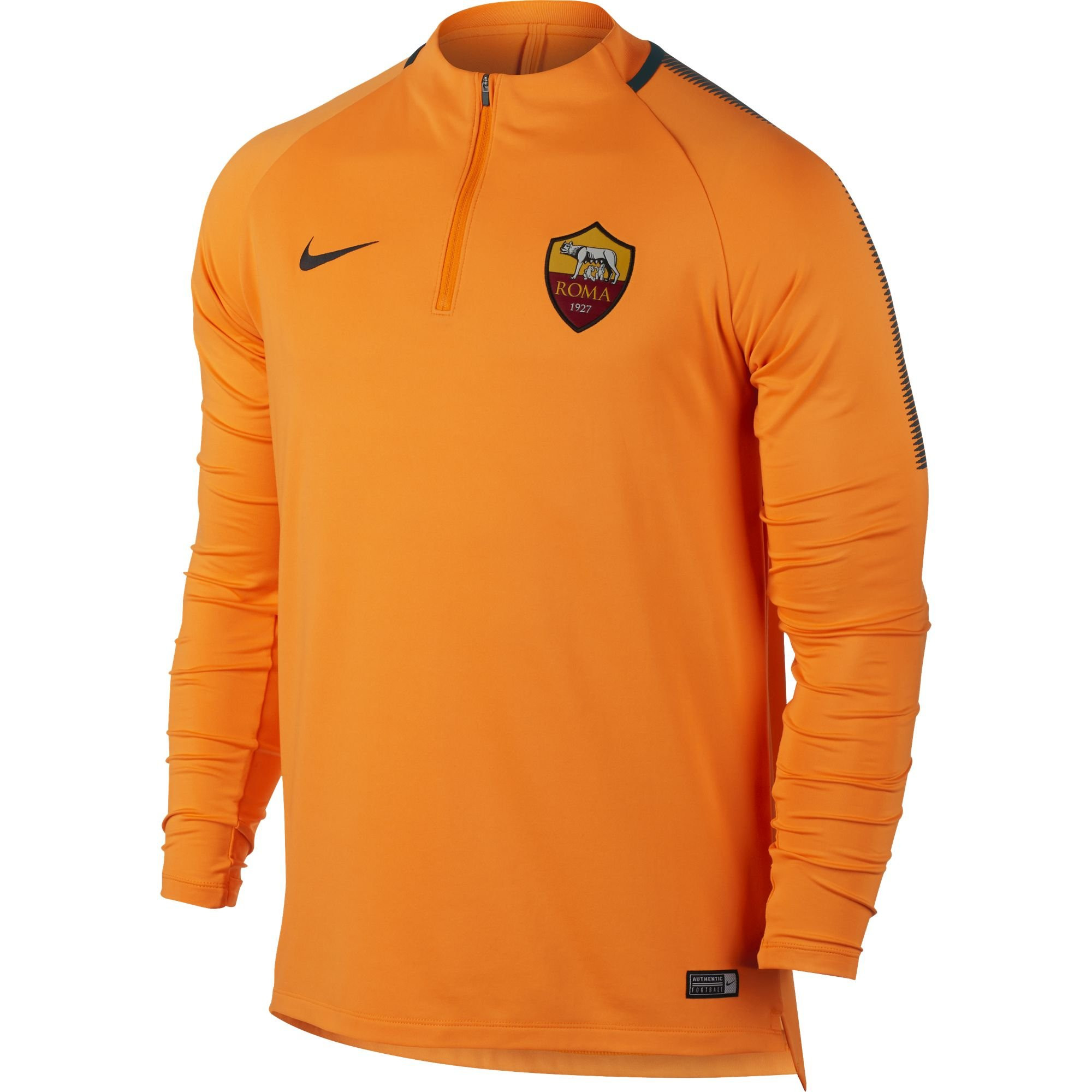 Sweat Trg Orange Top Rayon Entrainement 20172018 Nike Roma As xS7U6qwc1H