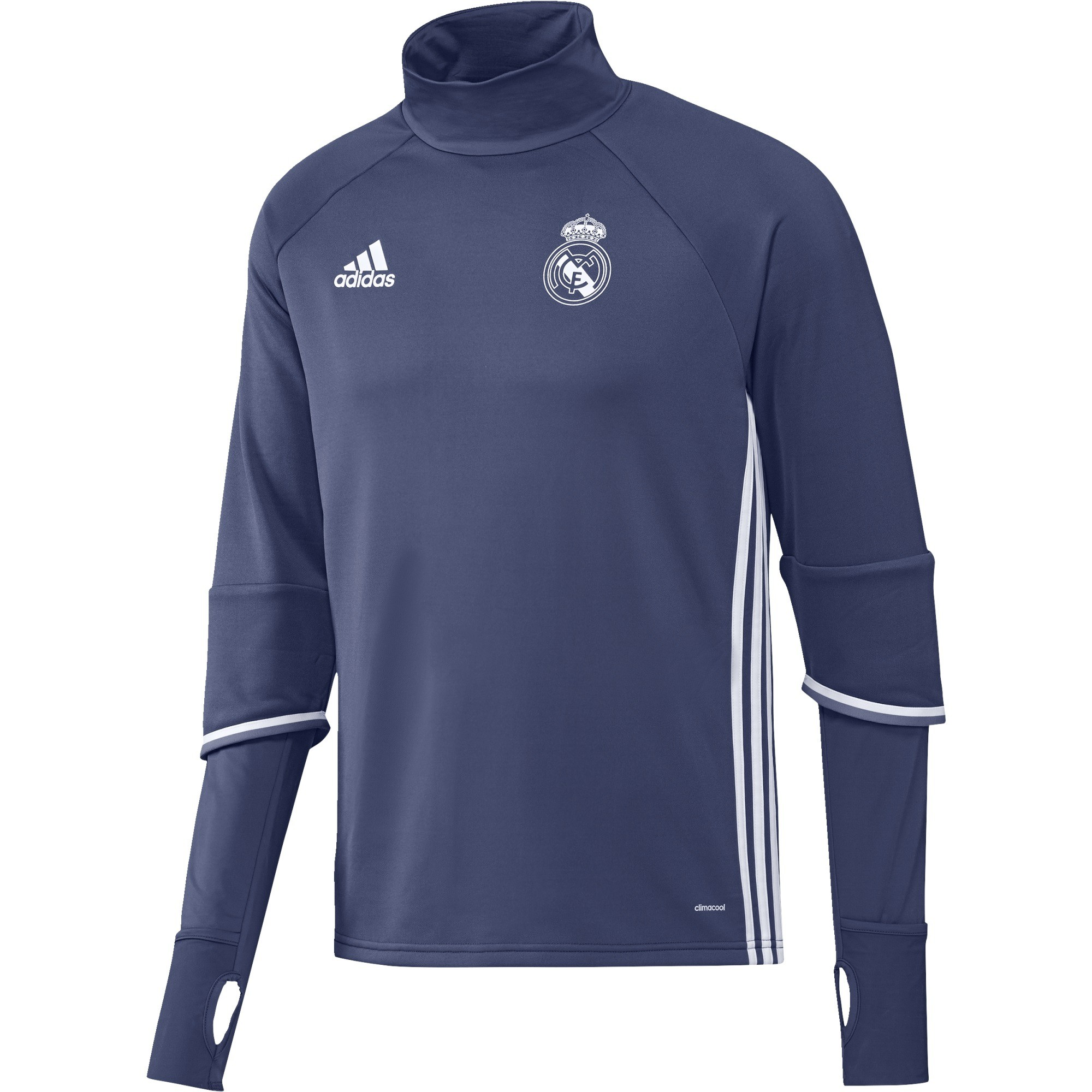 Entrainement Rayon Trg Sweat Real Bleu 20162017 Top Adidas Madrid 0HqEw8