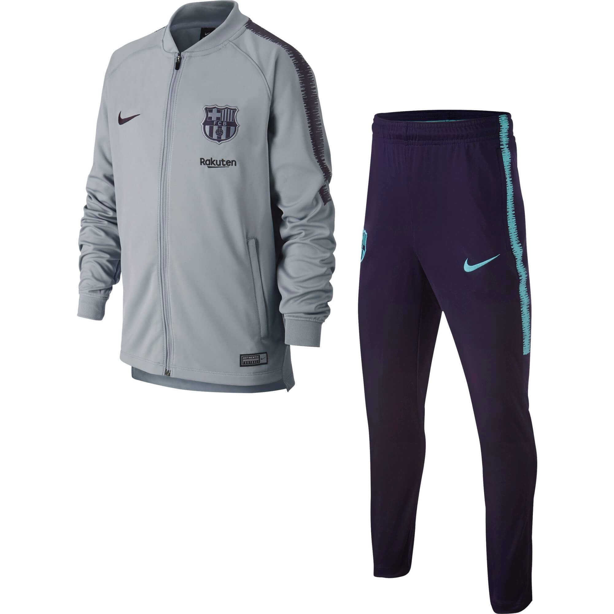 Survetement 015 Barcelone 894401 Knit Nike Junior Gris 20182019 BxT0znwq5