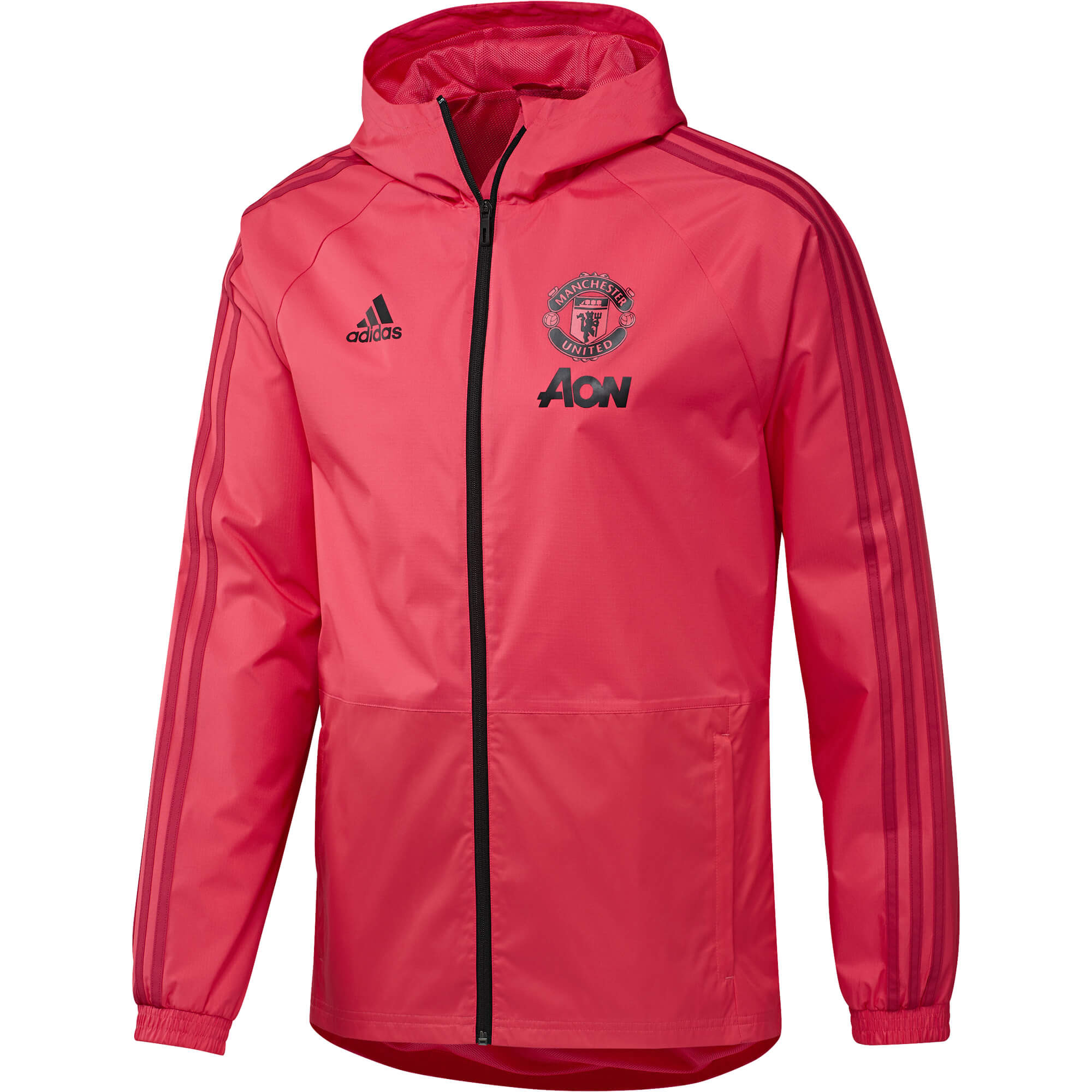 Veste Coupe Vent Adidas Manchester United Adulte 20182019