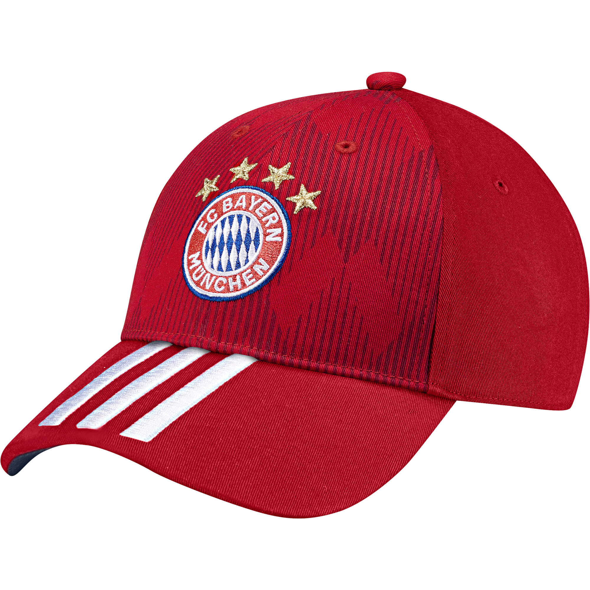 huge discount 7a73d f876b ADIDAS BAYERN CASQUETTE ROUGE 2018 2019