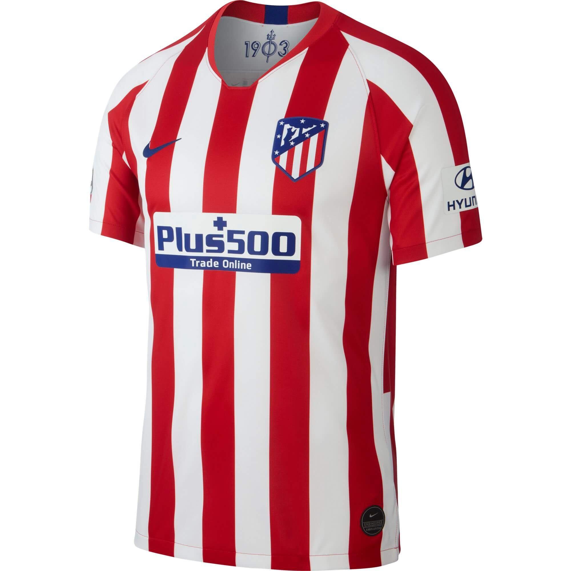 NIKE ATLETICO MADRID MAILLOT DOMICILE 2019/2020