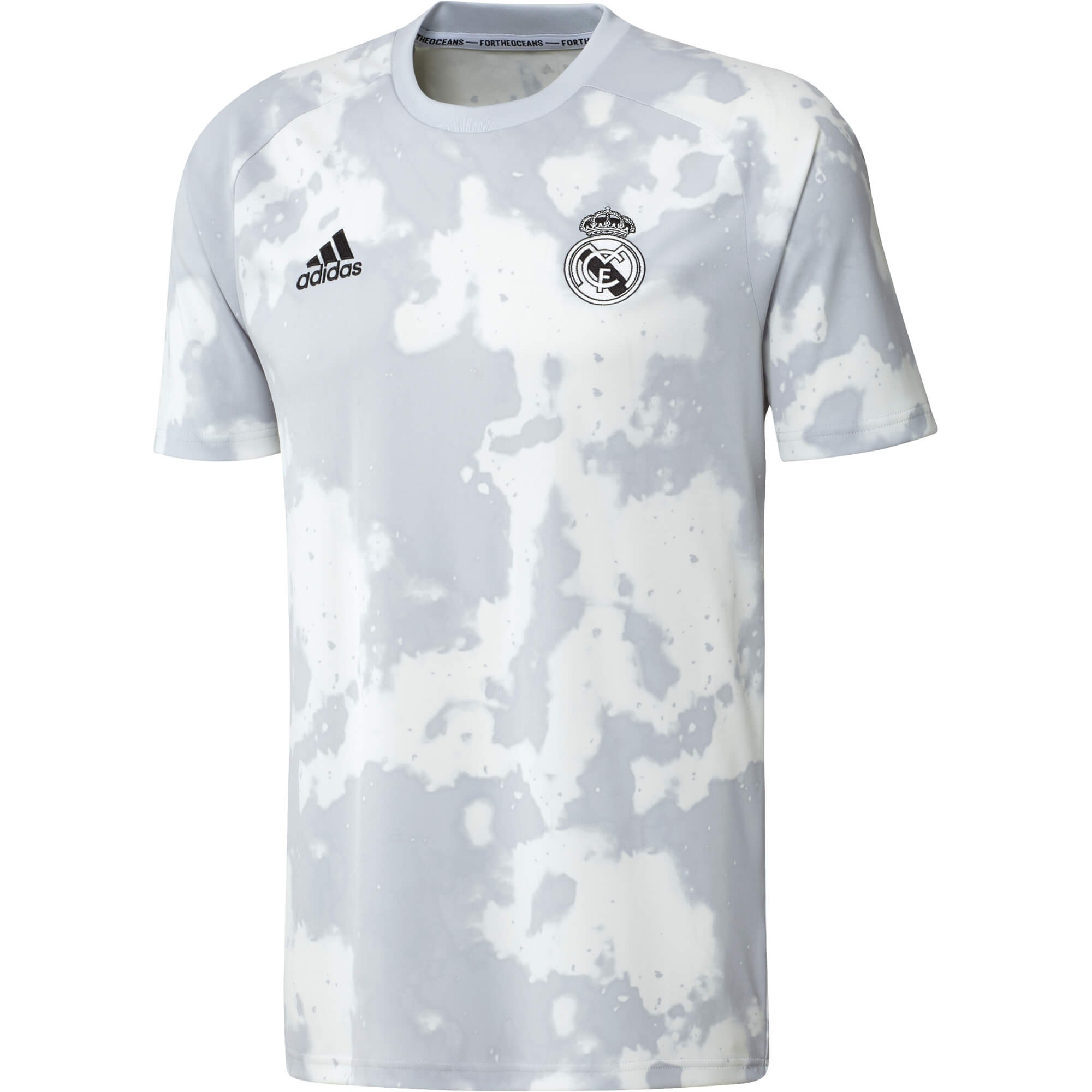 ADIDAS REAL MADRID MAILLOT ENTRAINEMENT PRE MATCH GRIS 2019