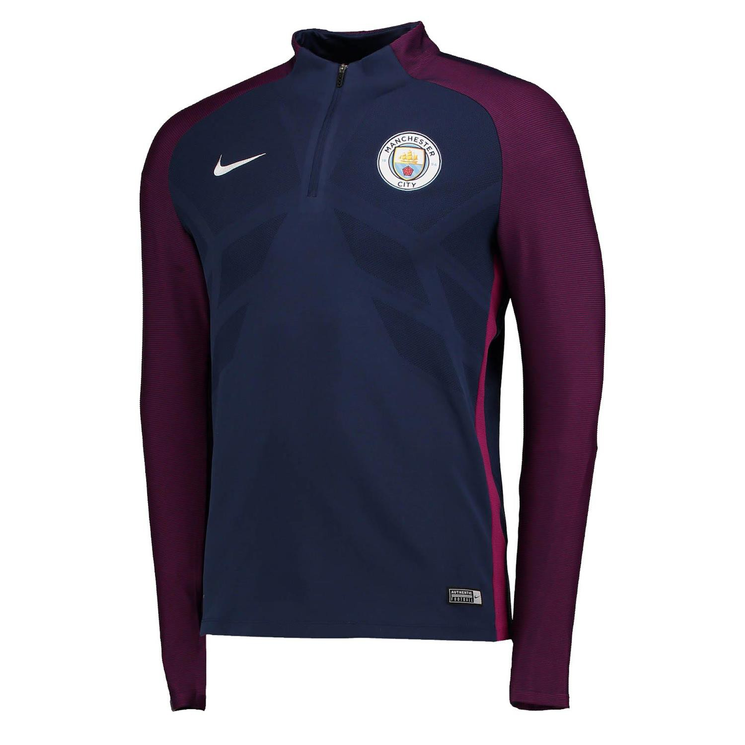 nike manchester city trg top elite marine 2017 2018 sweat entrainement rayon. Black Bedroom Furniture Sets. Home Design Ideas