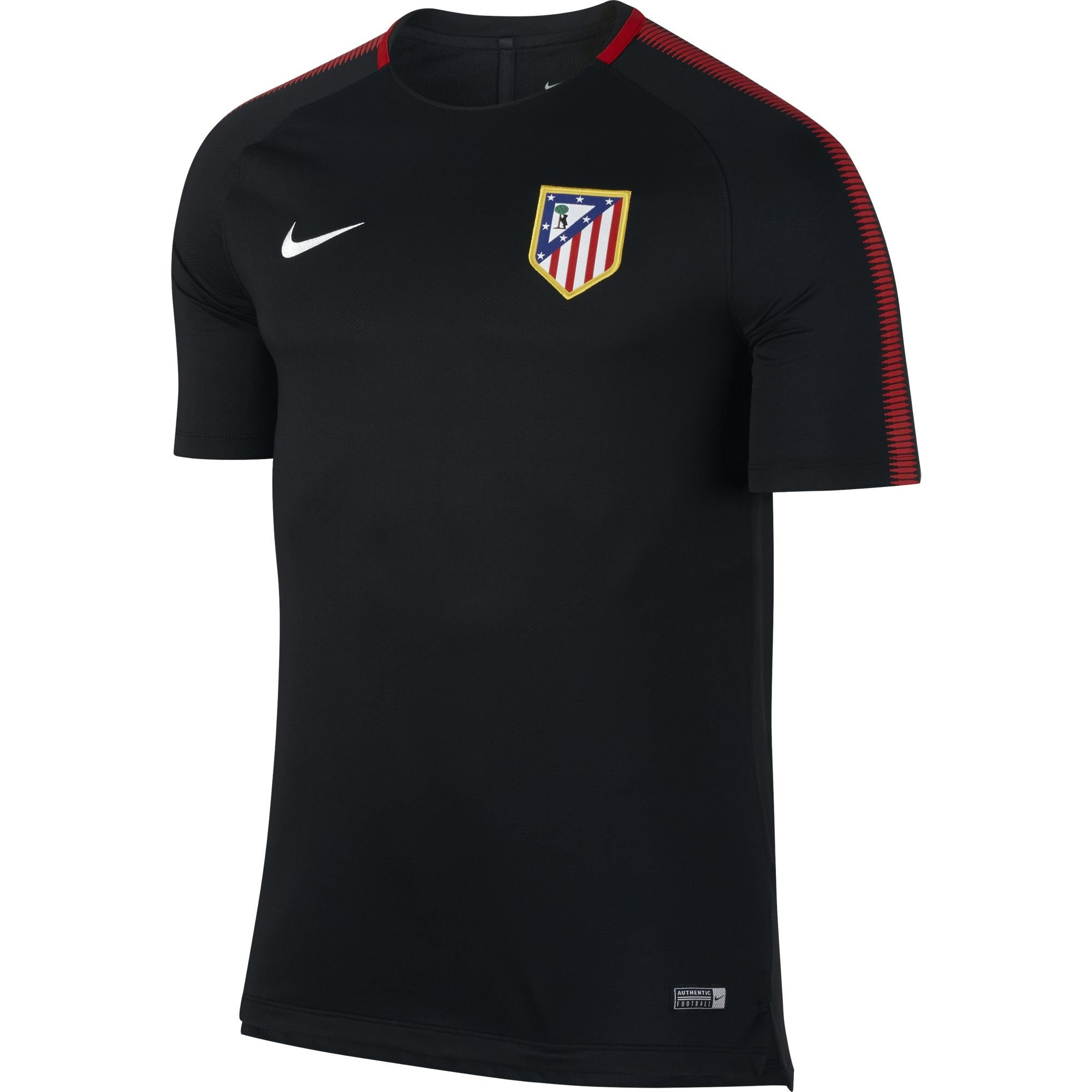 nike atletico madrid trg jsy noir 2017 2018 club etrangers. Black Bedroom Furniture Sets. Home Design Ideas