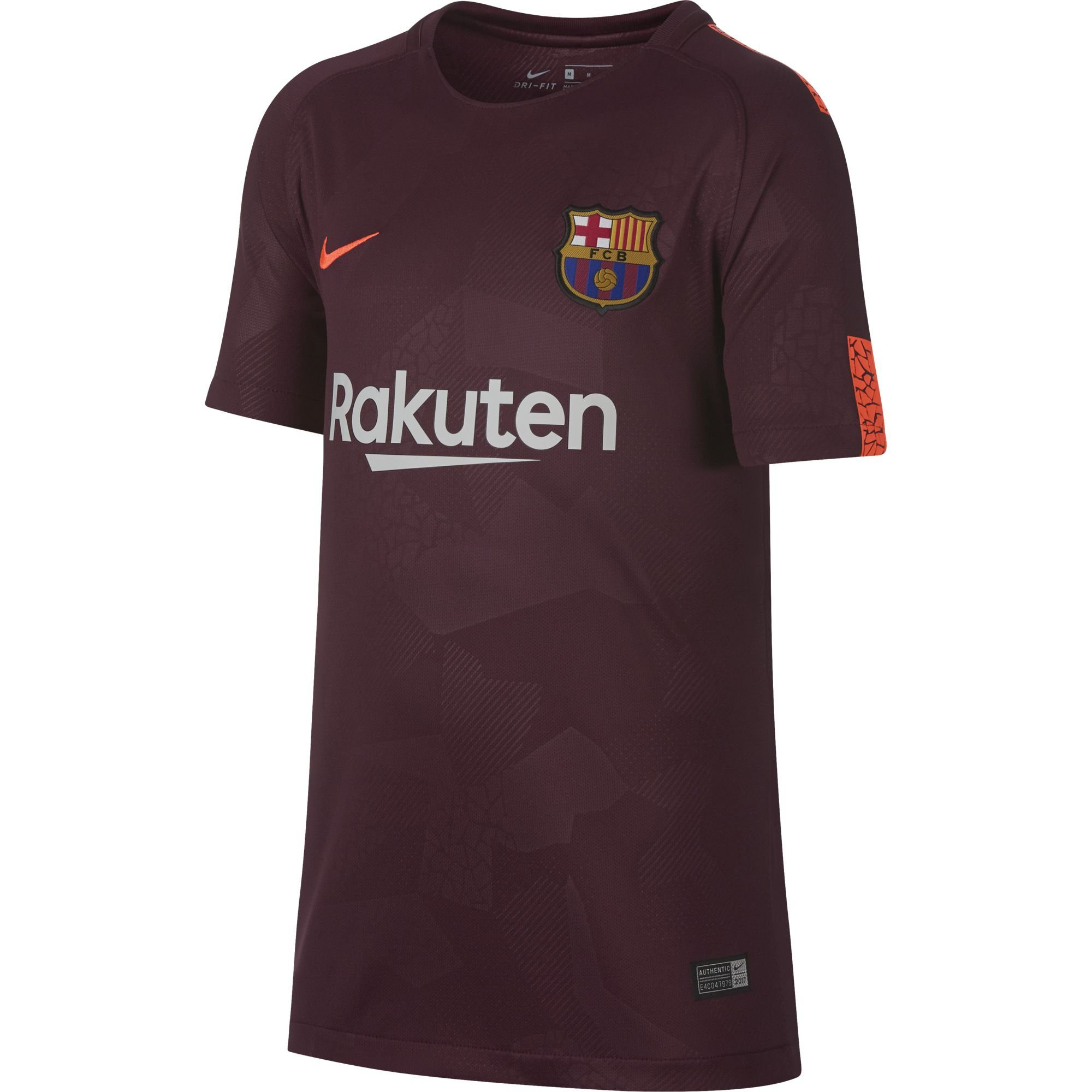 nike barcelone maillot third junior 2017 2018. Black Bedroom Furniture Sets. Home Design Ideas