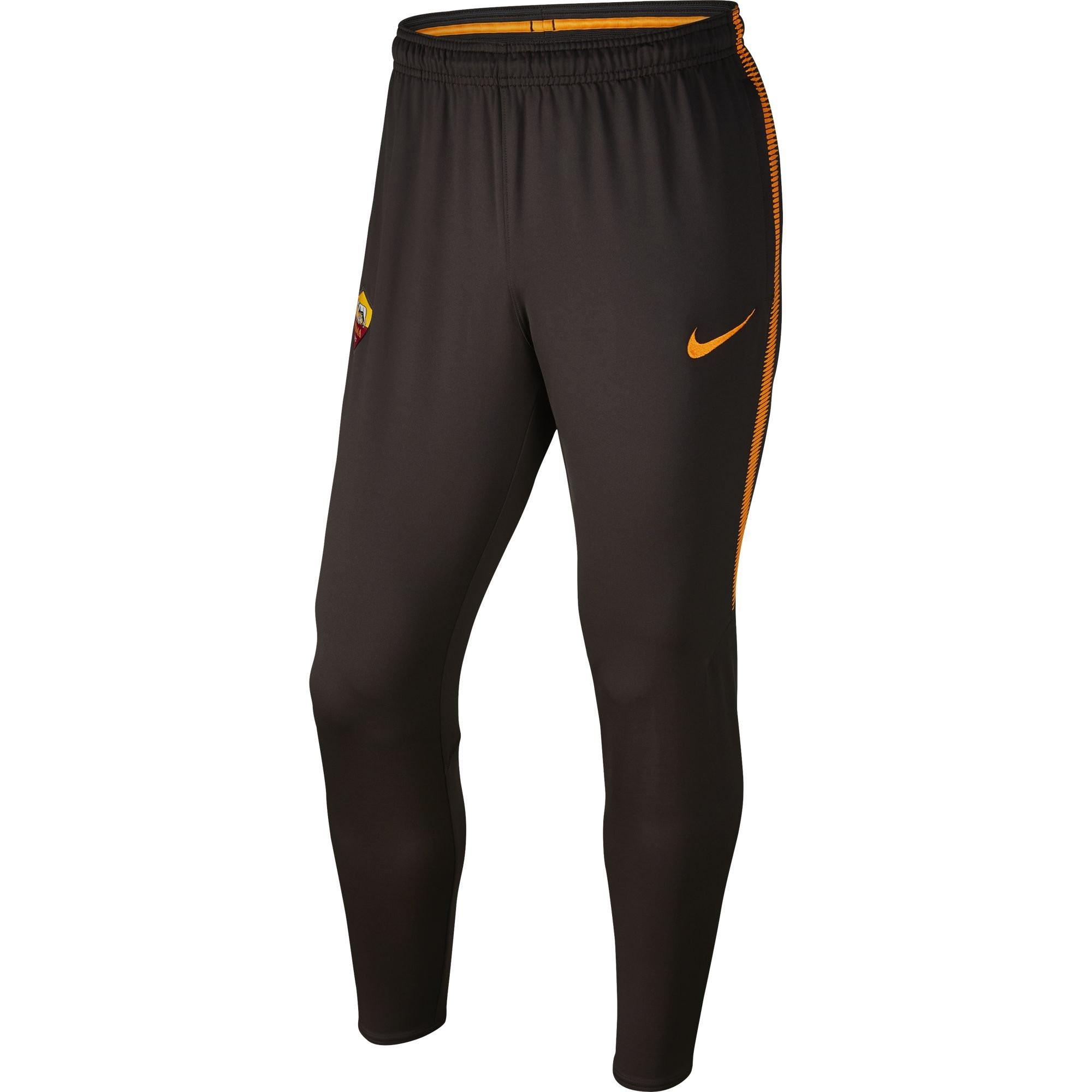 Nike as roma trg pant marron 2017 2018 as roma club for Univers du jardin maule 78