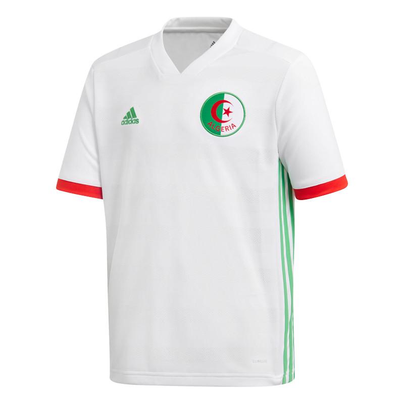 Adidas algerie maillot domicile junior blanc 2018 nation for Univers du jardin maule 78