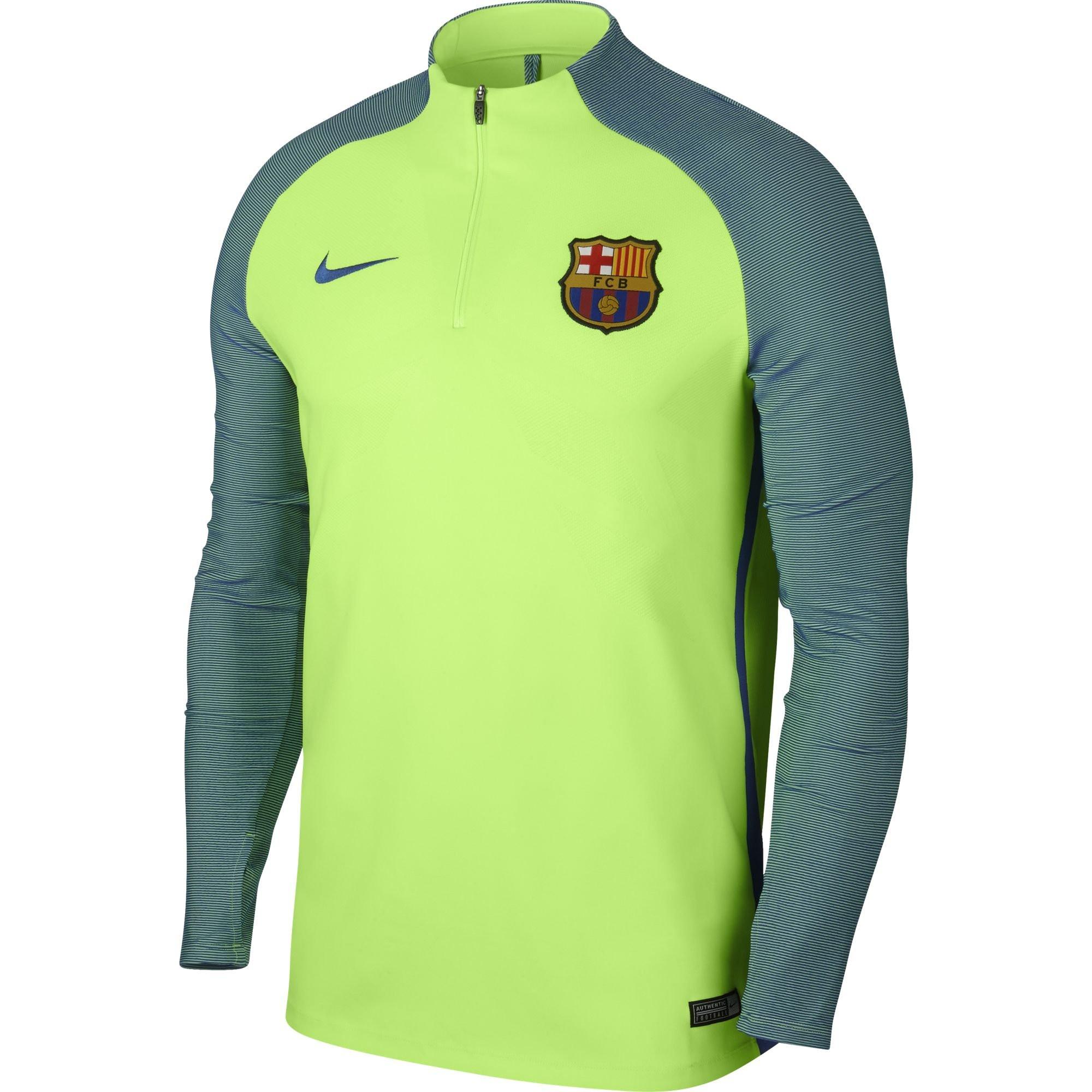 Nike barcelone trg top elite vert pomme 2016 2017 for Univers du jardin maule 78