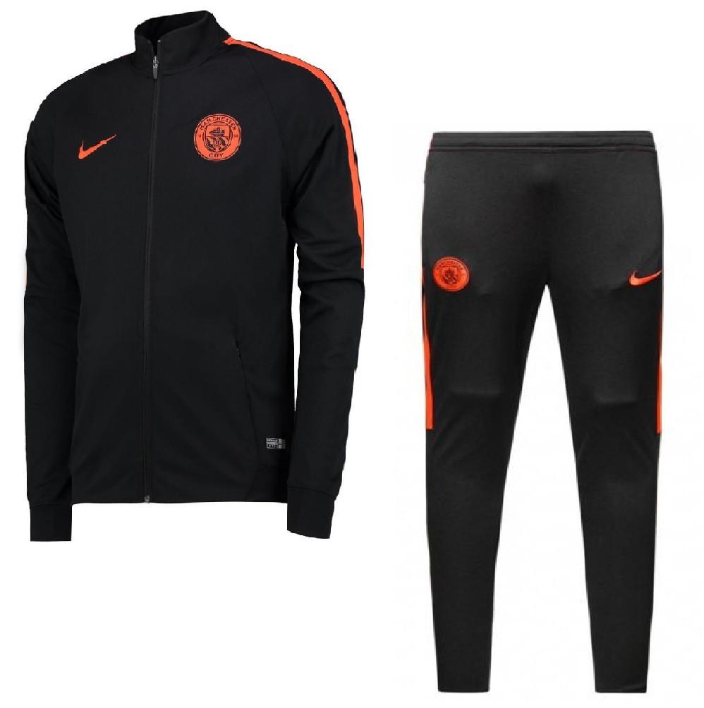 Nike manchester city pre suit noir 2016 2017 for Univers du jardin maule 78