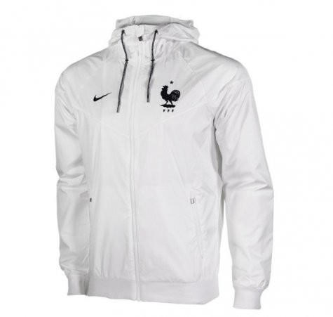 famous brand lowest discount buy popular Coupe-Vent Nike Blanc Euro 2016, Windrunner FFF Fédération ...
