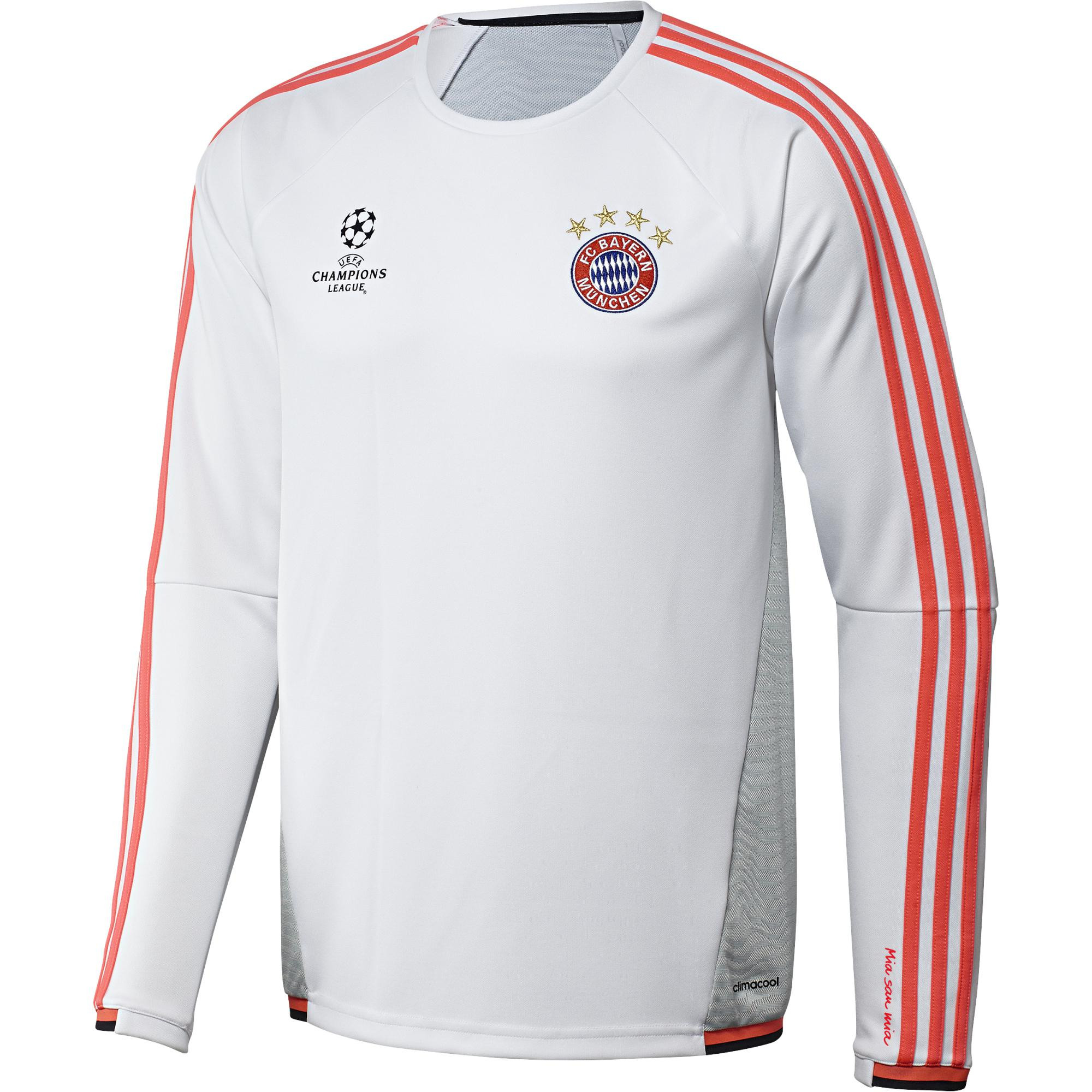 adidas bayern eu training top blanc 2015 2016 bayern. Black Bedroom Furniture Sets. Home Design Ideas