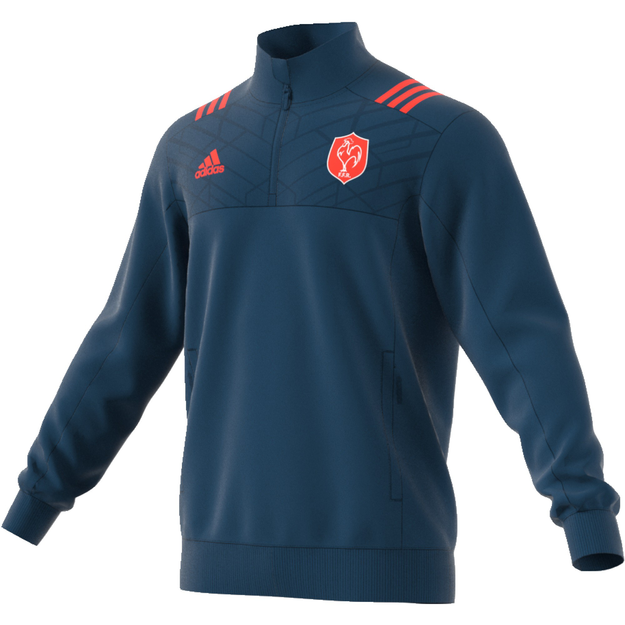 Adidas ffr rugby fleece 2016 2017 nation - Coupe vent adidas junior ...