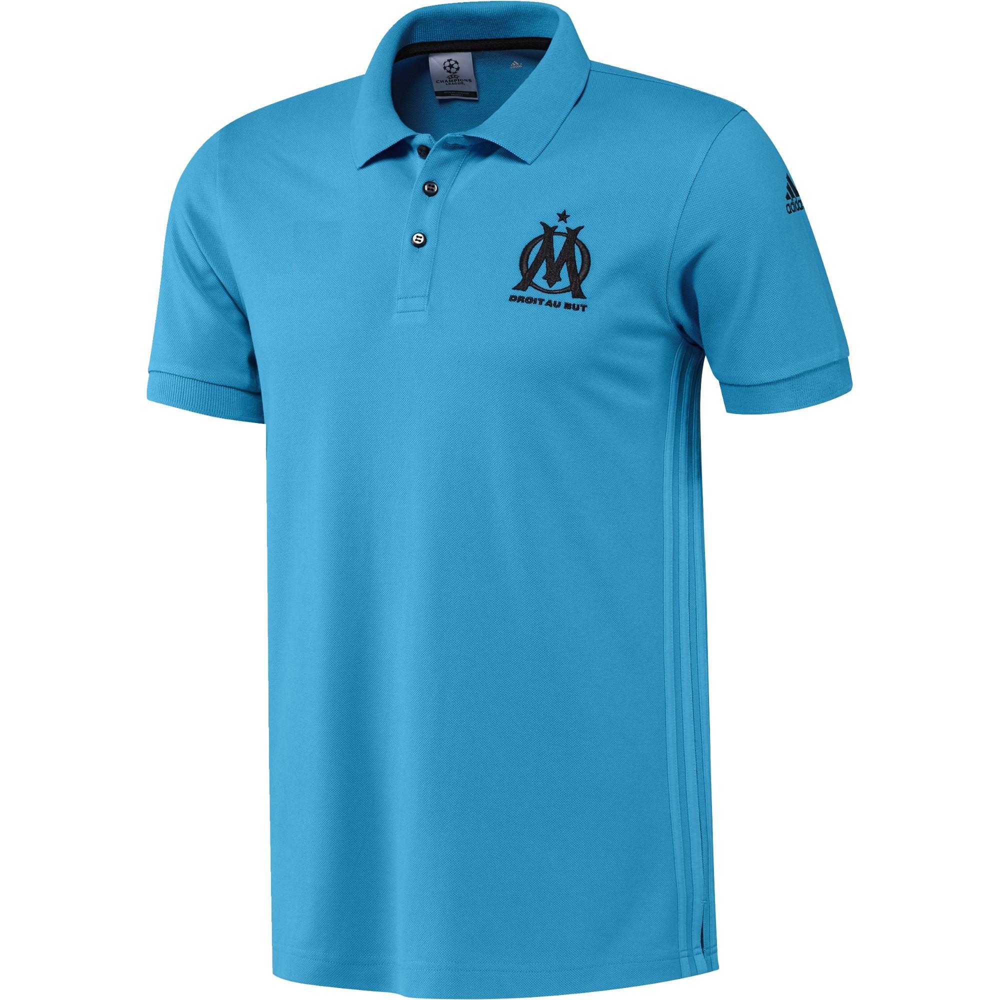Adidas Polo Olympique Marseille Eu Bleu Club De 20162017 Om wPNOXnk80