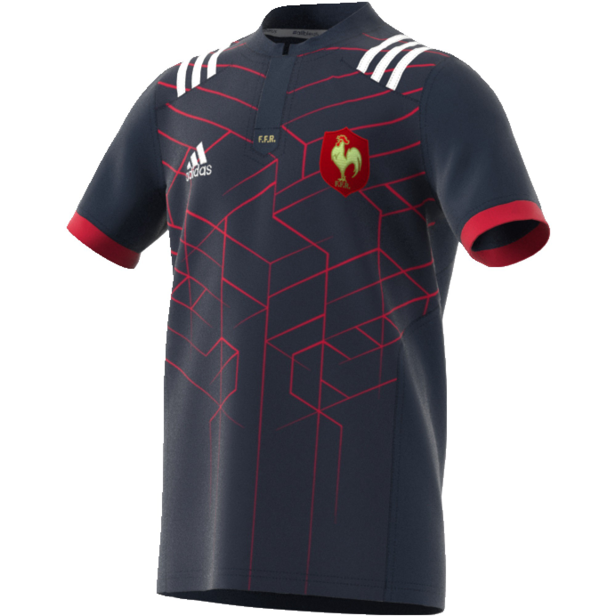 ADIDAS FFR RUGBY MAILLOT DOMICILE JUNIOR 2016/2017