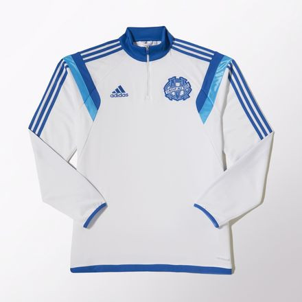 ADIDAS OM TRAINING TOP JR BLANC 20142015 Sweat