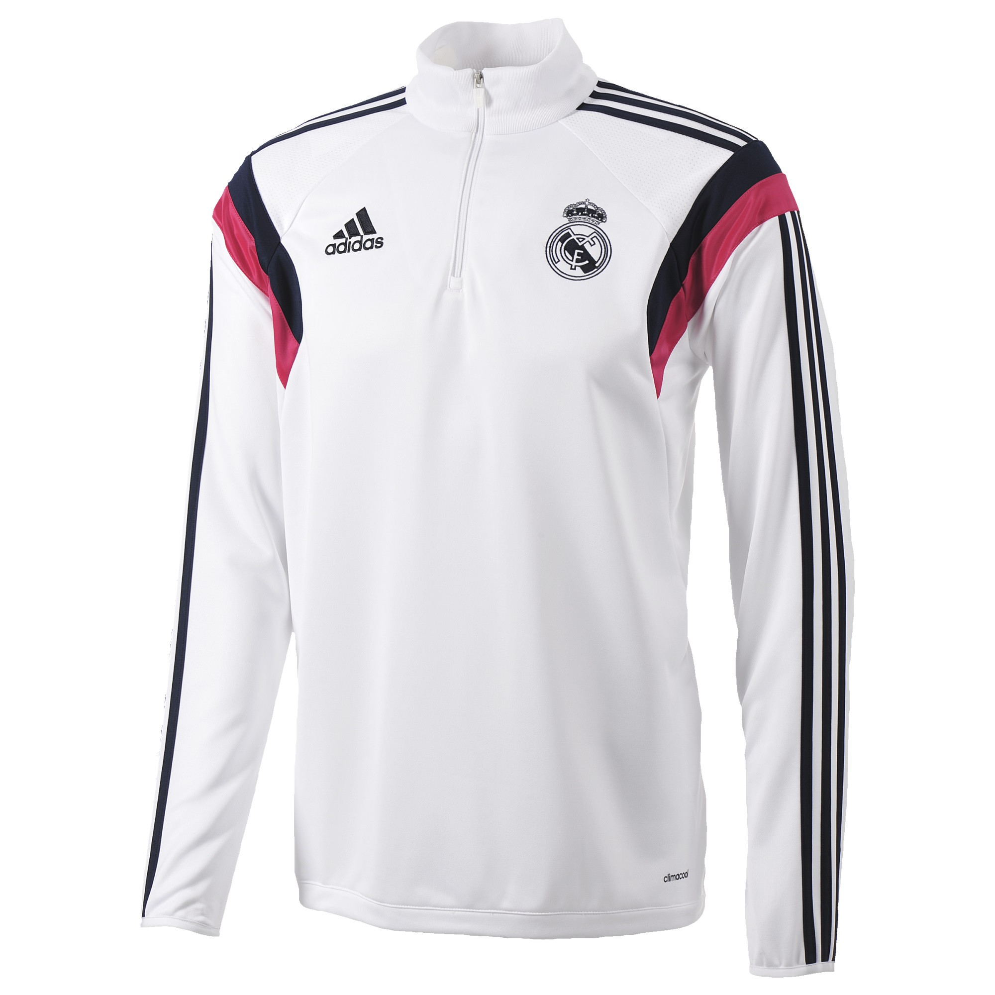 ADIDAS REAL TRAINING TOP BLANC 201415 Sweat entrainement