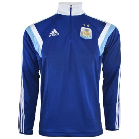 ADIDAS ARGENTINE TRAINING TOP 20142015 Sweat entrainement
