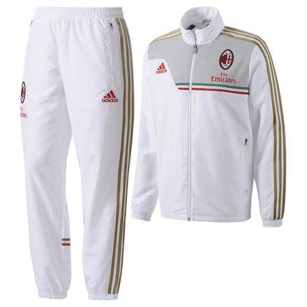 Survetement 20132014 Blanc Milan Ac Adidas WdoeQCBrx