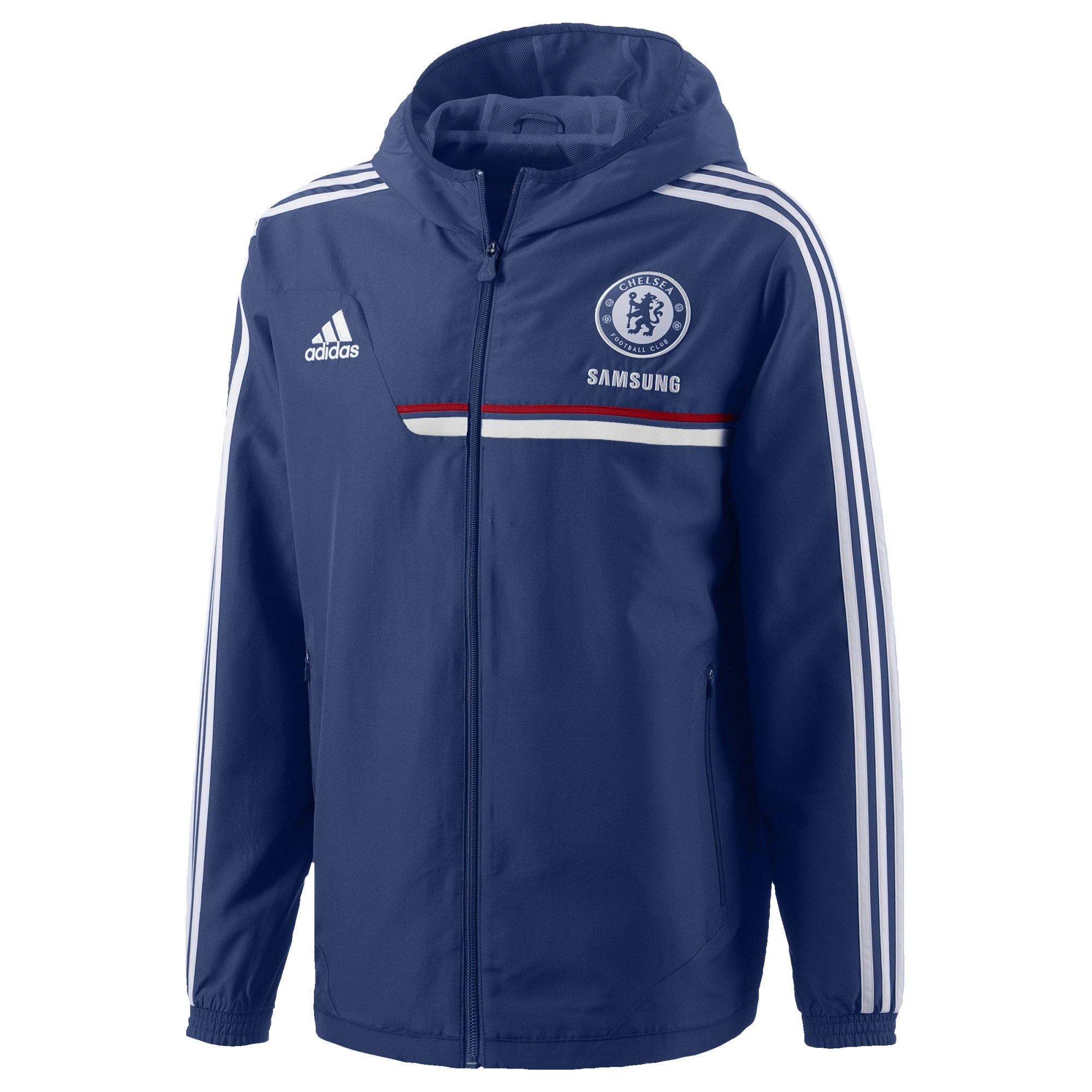 Jkt 20132014 Veste Chelsea Pre Bleu Rayon Adidas nv0w8Nm