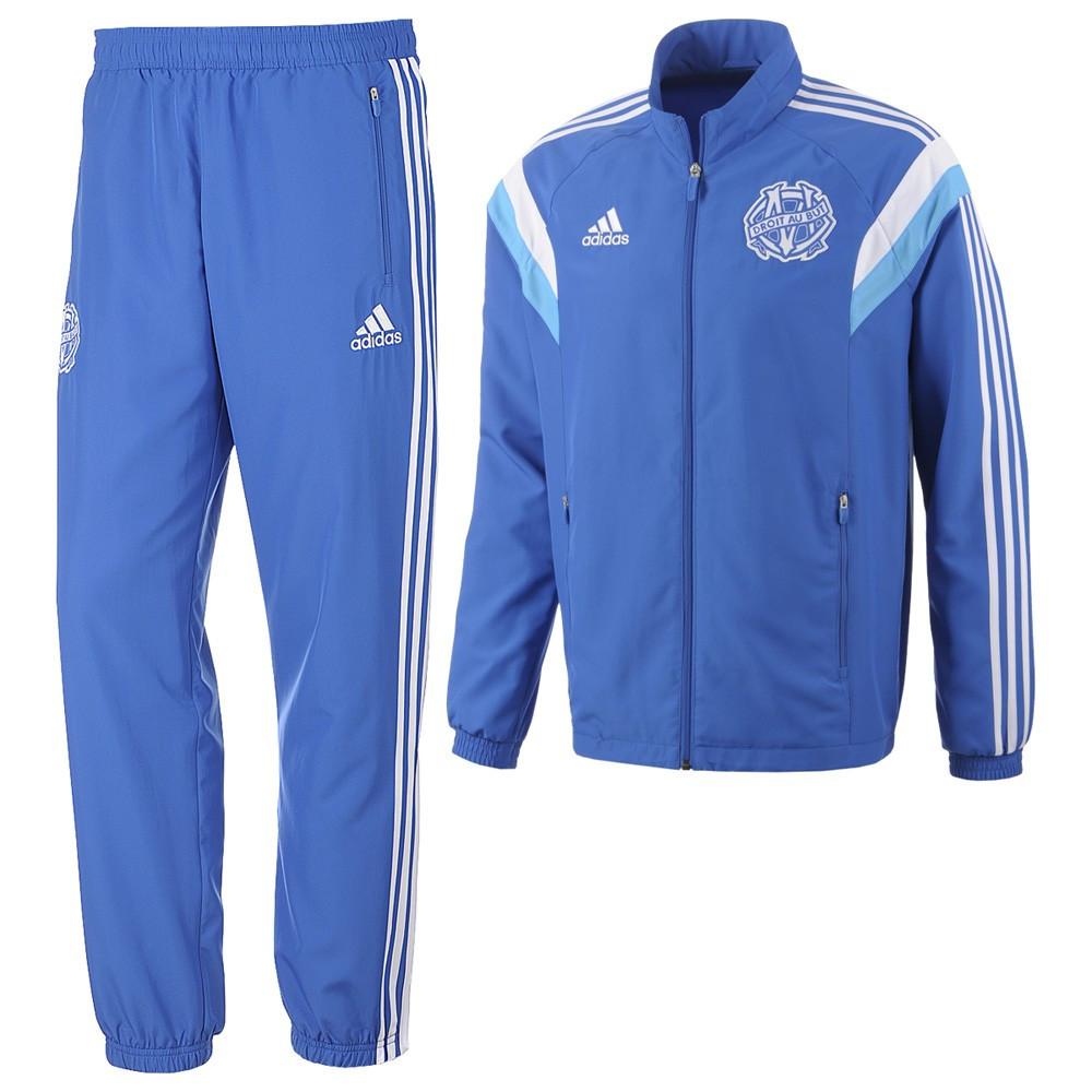 Marseille Adidas Survêtement Olympique de Marseille 201415