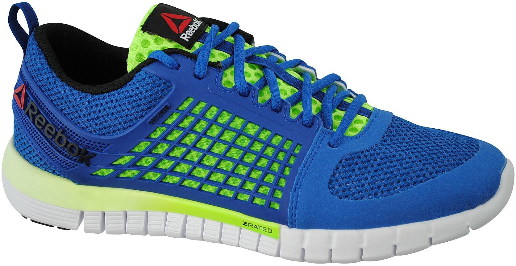 Reebok zquick electrify bleu fluo reebok chaussures for Univers du jardin maule 78