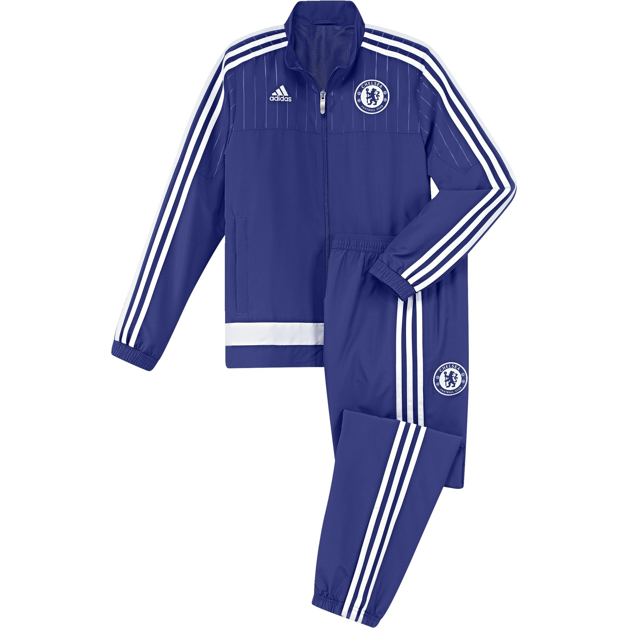 outlet online new release cheap sale ADIDAS CHELSEA SURVETEMENT BLEU JUNIOR 2015/2016