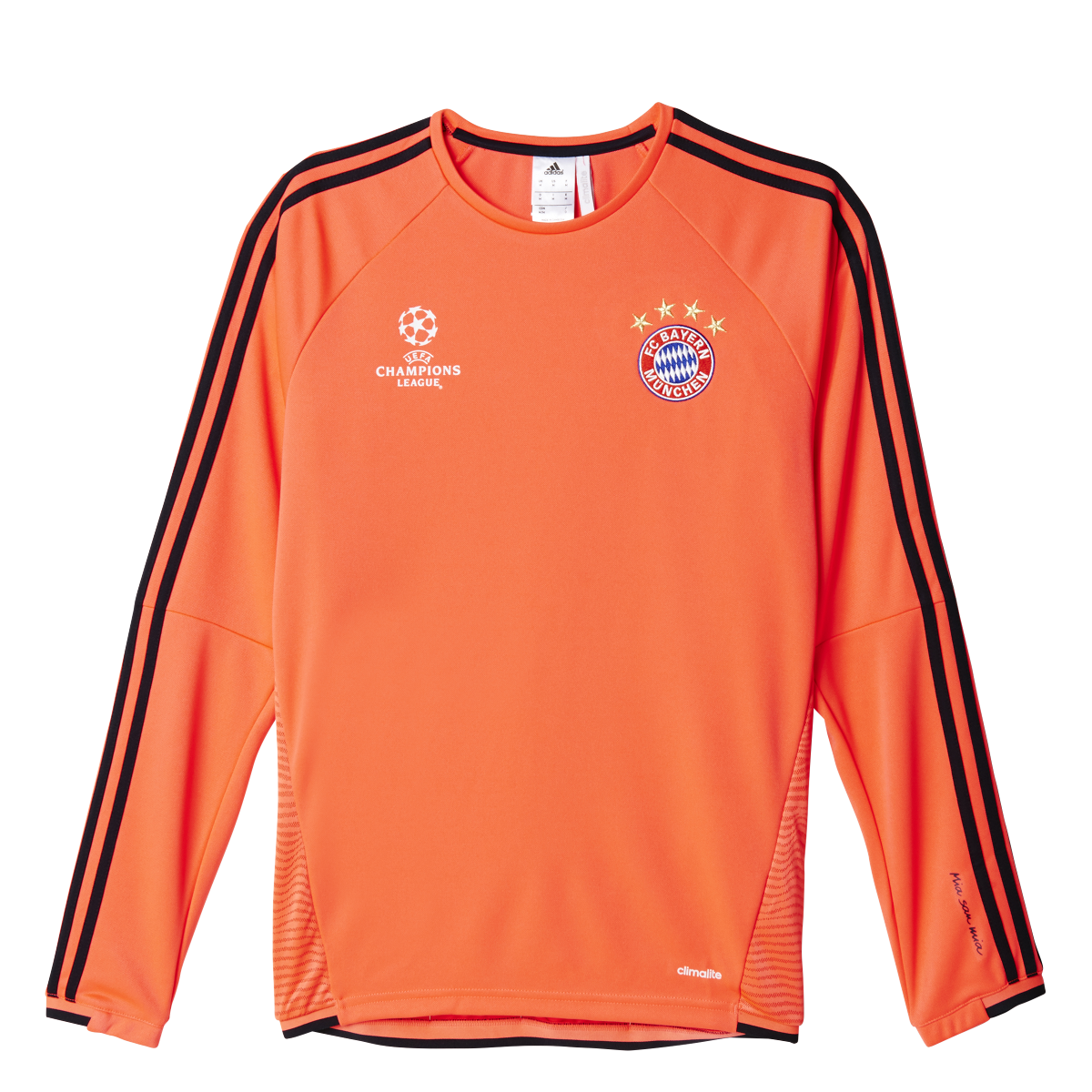 Bayern Orange Training Rose Top Eu Adidas 20152016 thQsrd