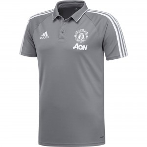 ADIDAS MANCHESTER UNITED POLO GRIS 2017/2018