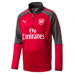 PUMA ARSENAL TRG TOP ROUGE 2017/2018