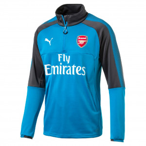 PUMA ARSENAL TRG TOP BLEU 2017/2018